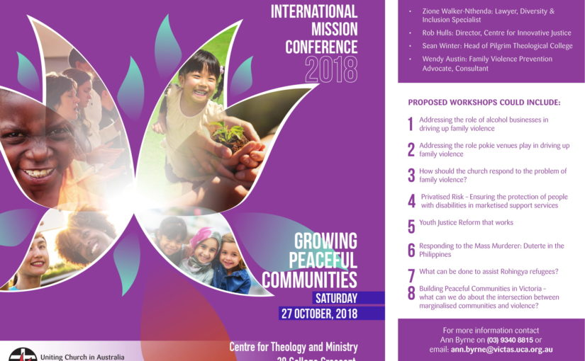 Justice and International Mission Conference 2018