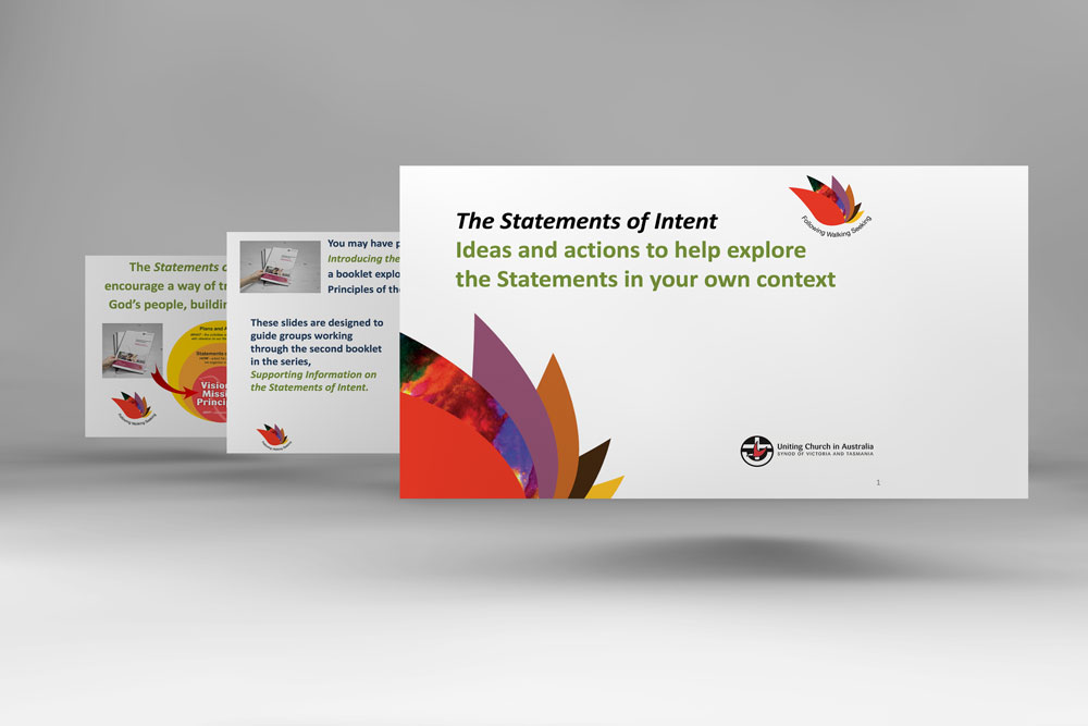 Statements of Intent booklet - supporting powerpoint