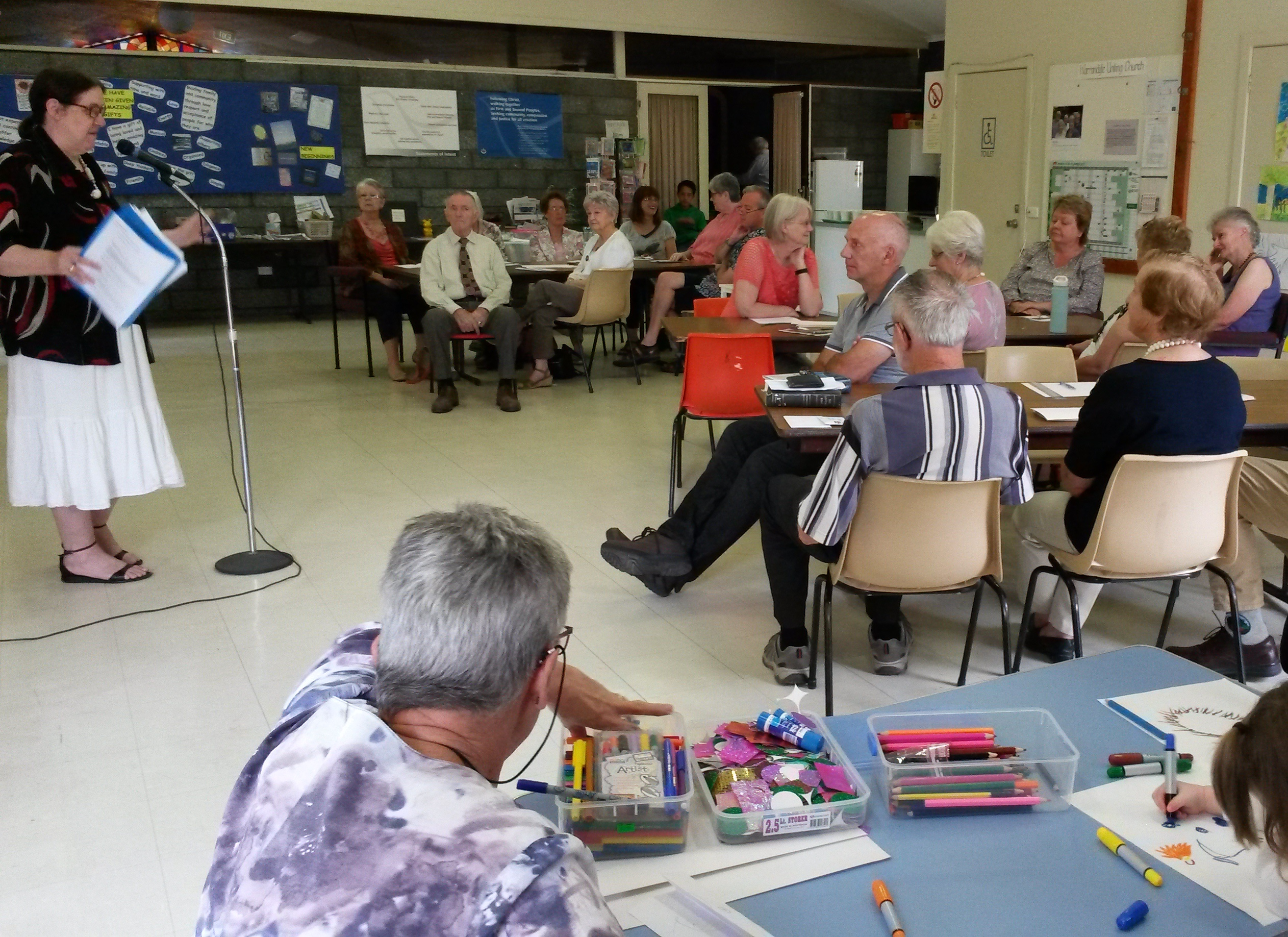 Warrandyte Uniting Church held a Vision exploring day in early 2017